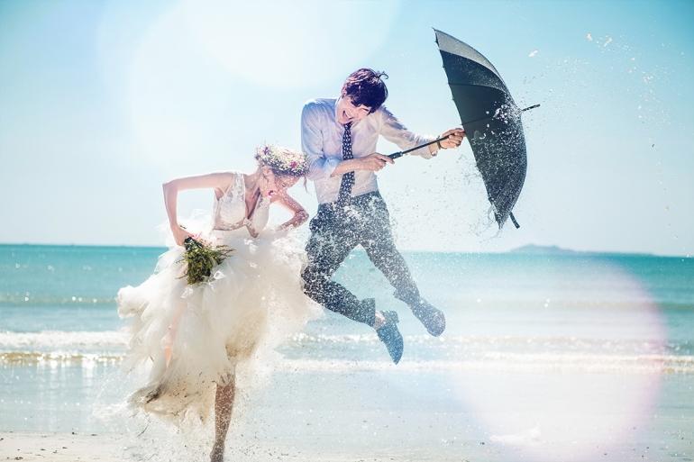 高雄婚攝Spencer推薦-三亞婚紗攝影工作室